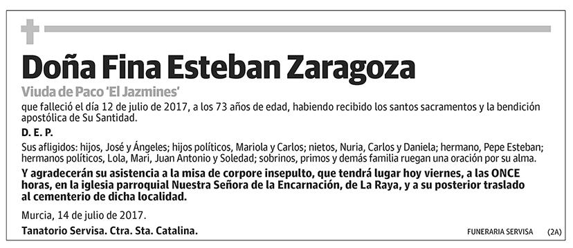 Fina Esteban Zaragoza