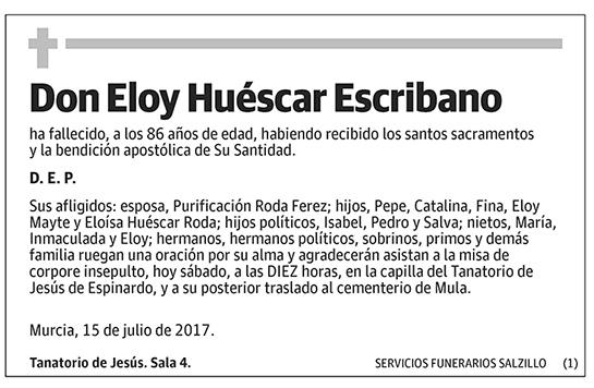 Eloy Huéscar Escribano