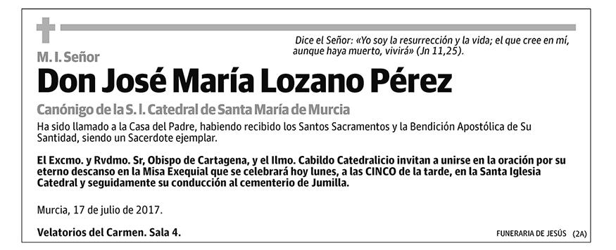 José María Lozano Pérez