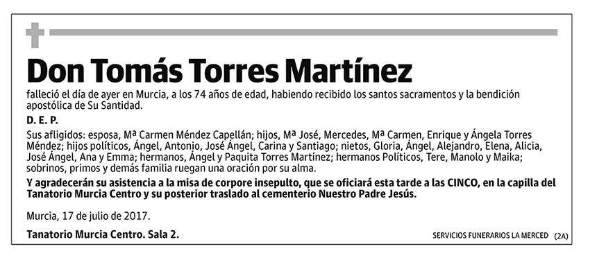 Tomás Torres Martínez