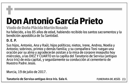 Antonio García Prieto