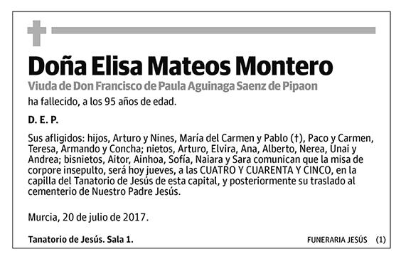 Elisa Mateos Montero