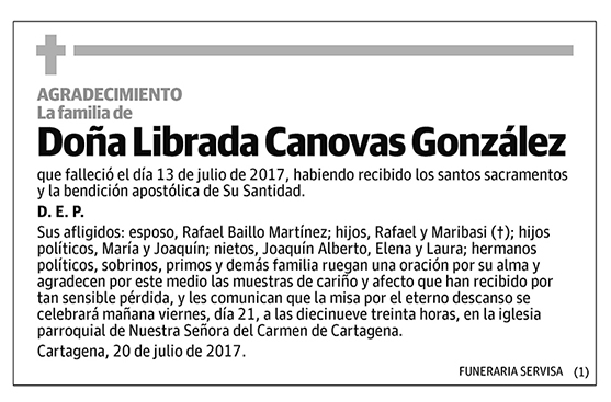 Librada Canovas González