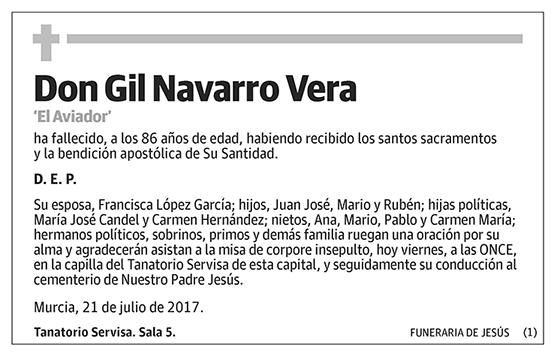 Gil Navarro Vera