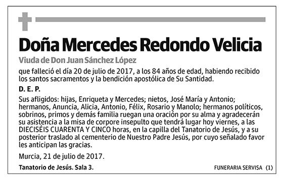 Mercedes Redondo Velicia
