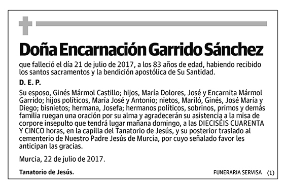 Encarnación Garrido Sánchez