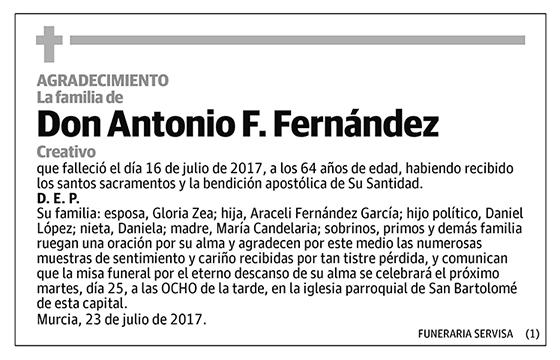 Antonio F. Fernández