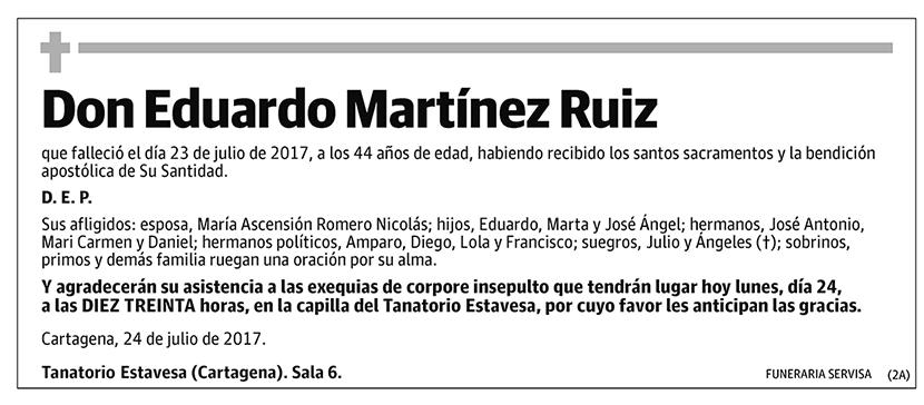 Eduardo Martínez Ruiz