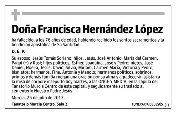 Francisca Hernández López