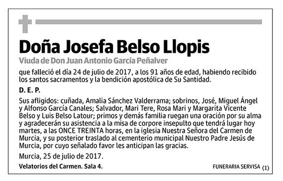 Josefa Belso Llopis