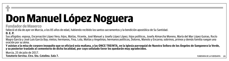 Manuel López Noguera