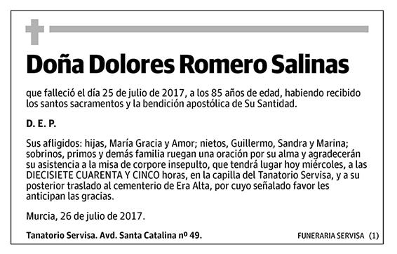 Dolores Romero Salinas