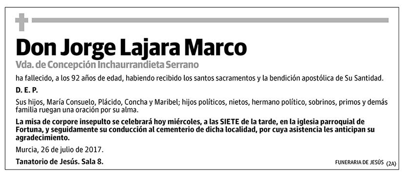 Jorge Lajara Marco
