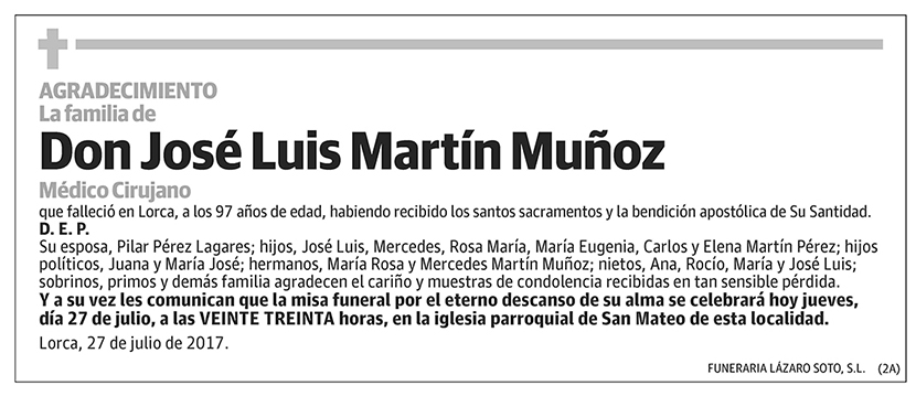 José Luis Martín Muñoz