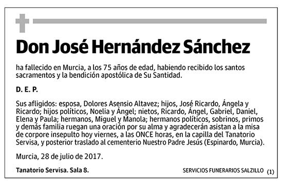 José Hernández Sánchez