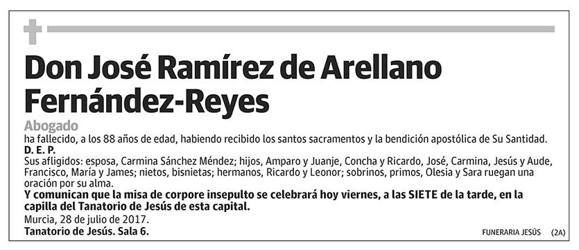 José Ramírez de Arellano Fernández-Reyes