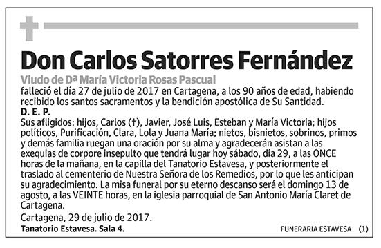 Carlos Satorres Fernández