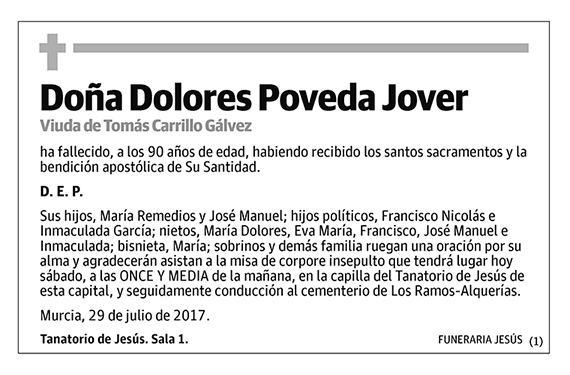 Dolores Poveda Jover