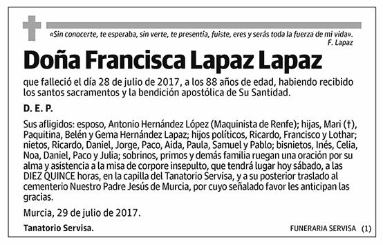 Francisca Lapaz Lapaz