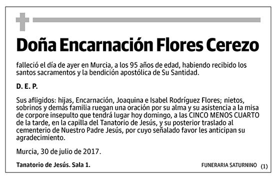 Encarnación Flores Cerezo