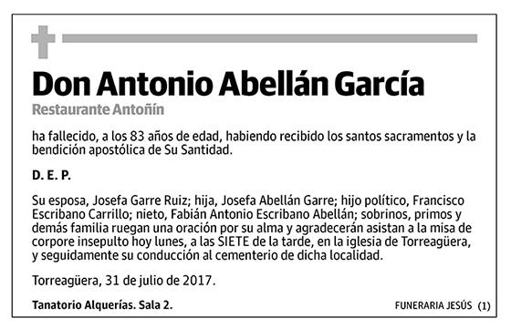 Antonio Abellán García
