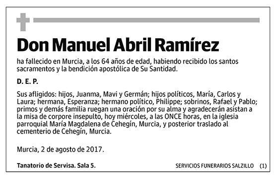 Manuel Abril Ramírez