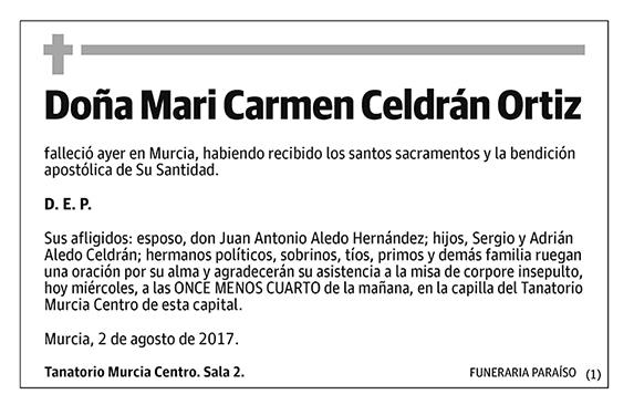 Mari Carmen Celdrán Ortiz
