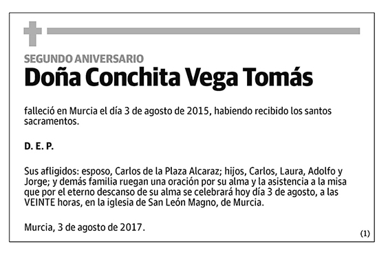 Conchita Vega Tomás