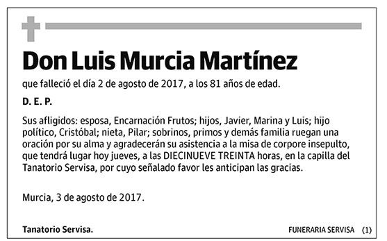 Luis Murcia Martínez