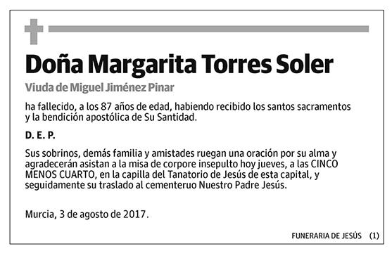 Margarita Torres Soler