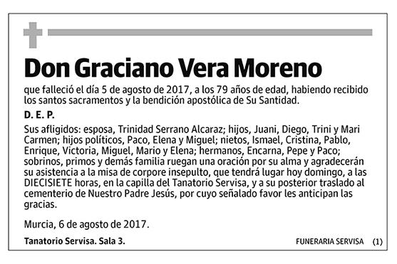 Graciano Vera Moreno