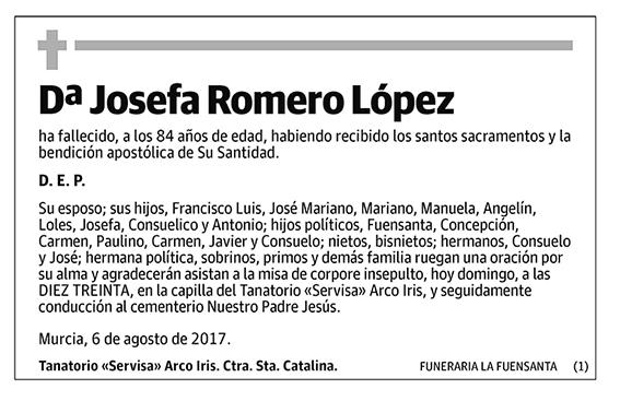 Josefa Romero López