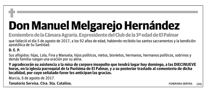 Manuel Melgarejo Hernández