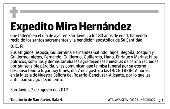 Expedito Mira Hernández