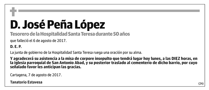 José Peña López