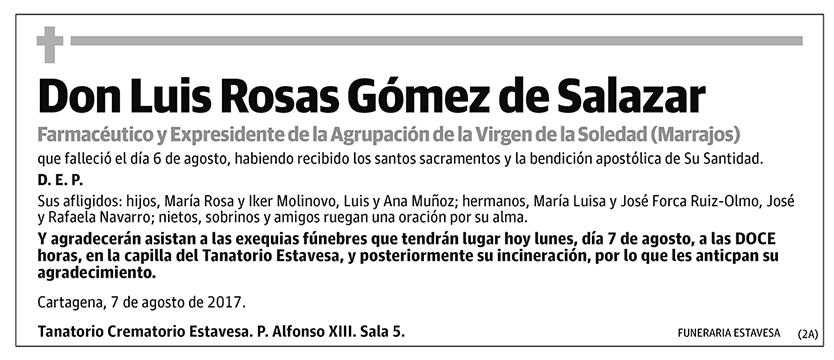 Luis Rosas Gómez de Salazar
