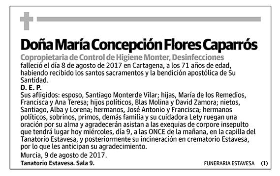 María Concepción Flores Caparrós