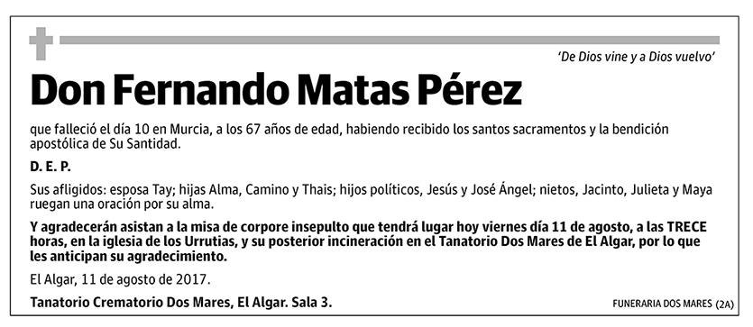 Fernando Matas Pérez