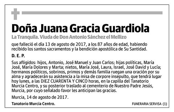 Juana Gracia Guardiola