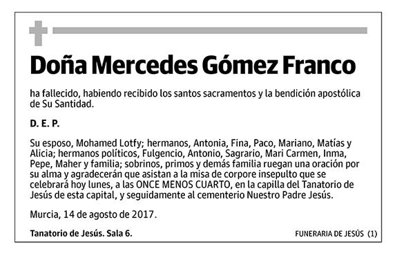Mercedes Gómez Franco