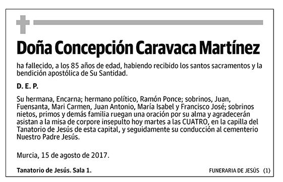 Concepción Caravaca Martínez