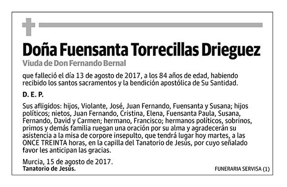 Fuensanta Torrecillas Drieguez