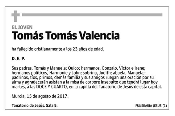 Tomás Tomás Valencia
