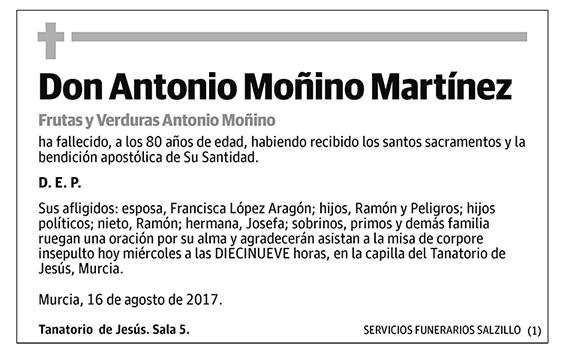 Antonio Moñino Martínez