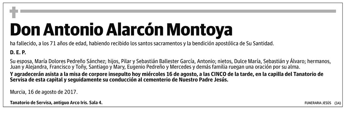 Antonio Alarcón Montoya