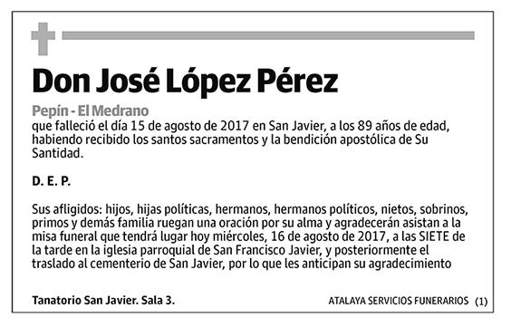 José López Pérez