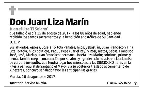 Juan Liza Marín
