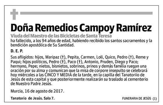 Remedios Campoy Ramírez