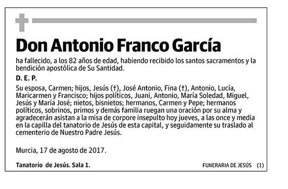Antonio Franco García
