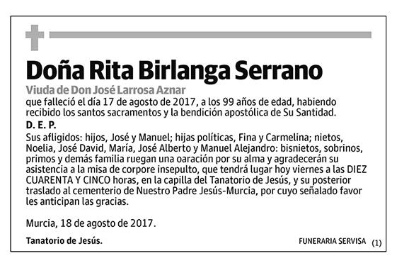 Rita Birlanga Serrano